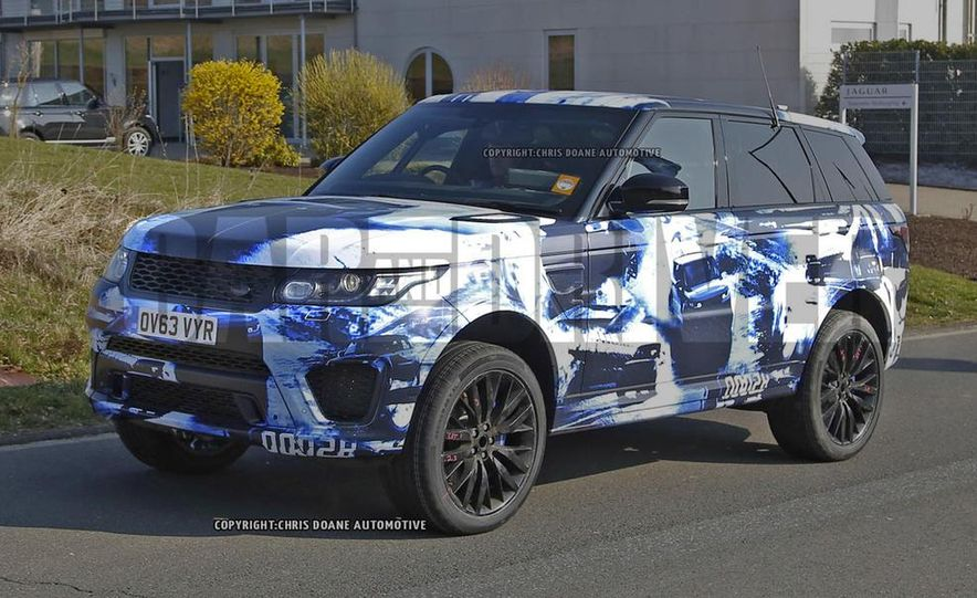2015 Land Rover Range Rover Sport SVR (spy photo) - Slide 3