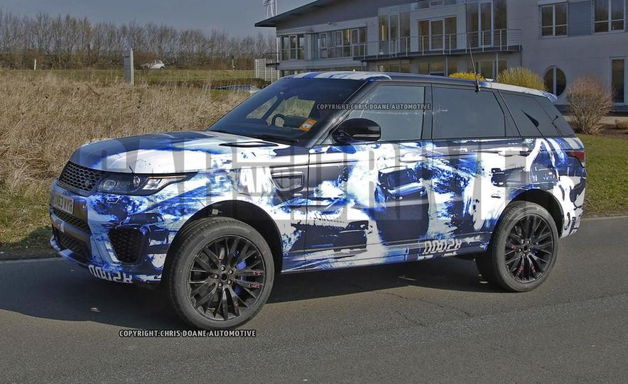 2015 Land Rover Range Rover Sport SVR (spy photo) - Slide 4