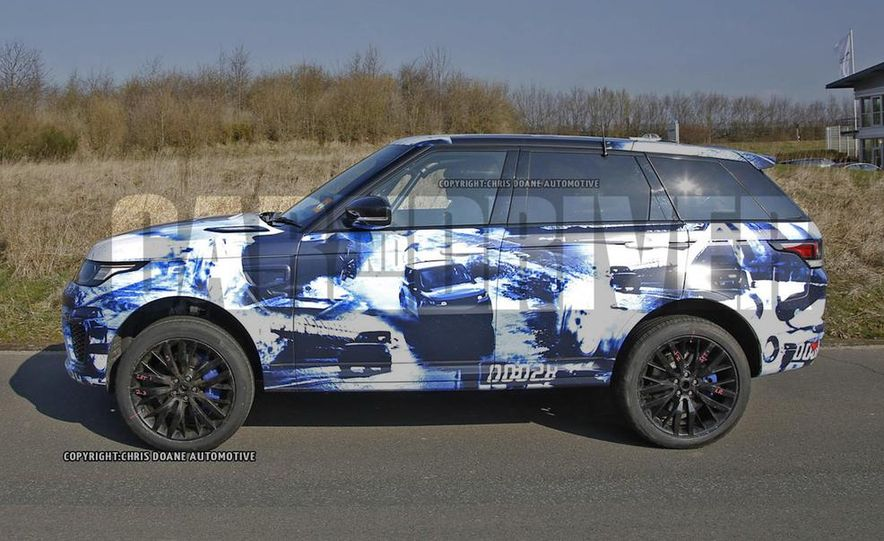 2015 Land Rover Range Rover Sport SVR (spy photo) - Slide 5