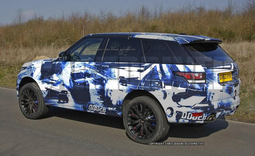 2015 Land Rover Range Rover Sport SVR (spy photo) - Slide 6