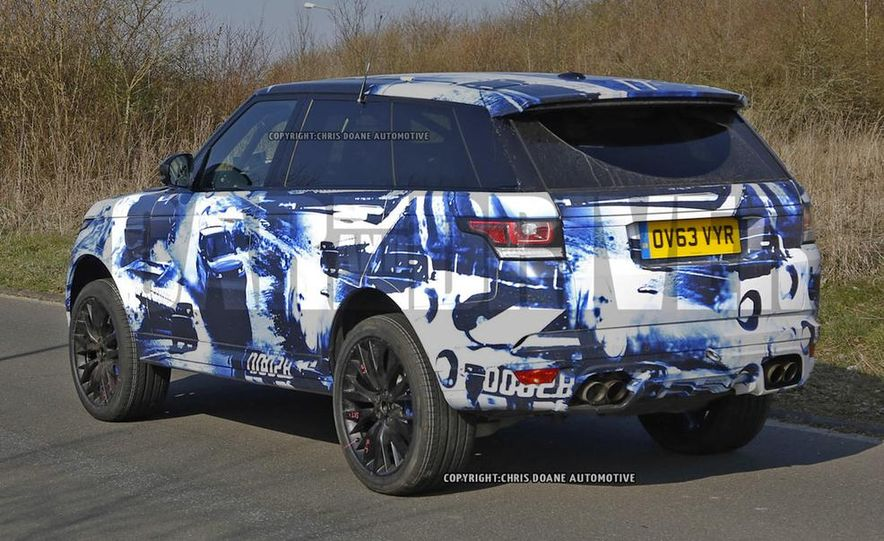2015 Land Rover Range Rover Sport SVR (spy photo) - Slide 7
