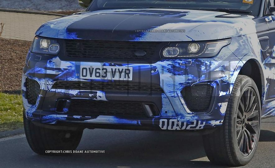 2015 Land Rover Range Rover Sport SVR (spy photo) - Slide 9