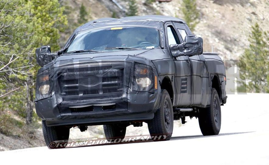 2016 Ford F-250 Super Duty (spy photo) - Slide 3