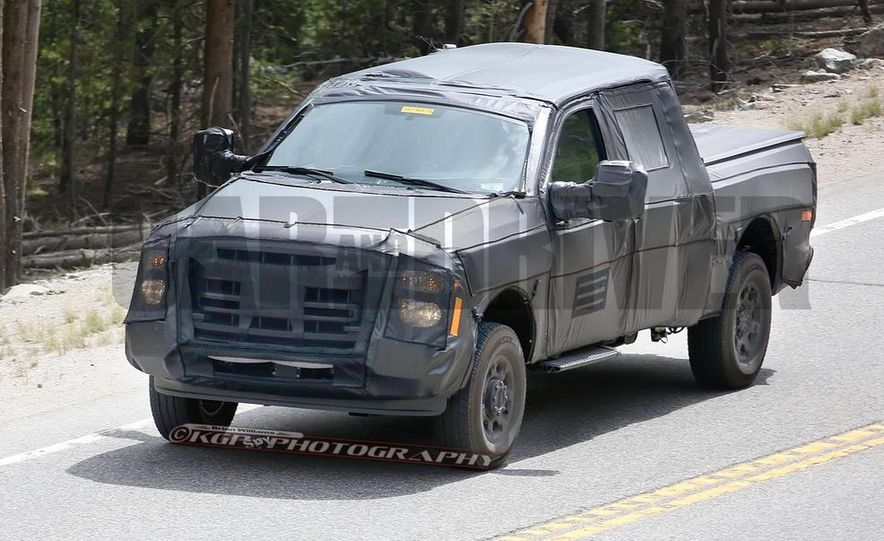 2016 Ford F-250 Super Duty (spy photo) - Slide 4