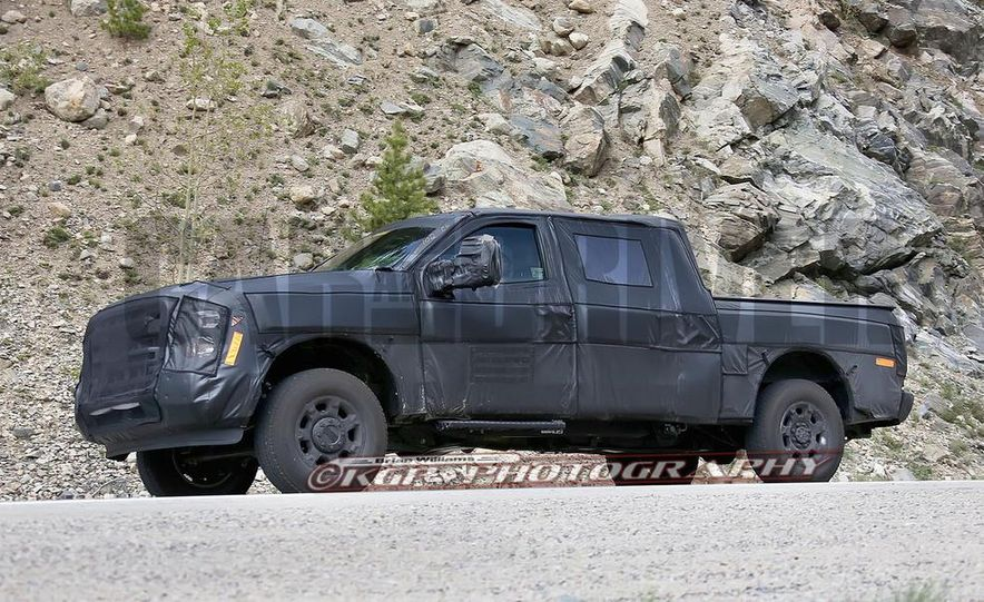 2016 Ford F-250 Super Duty (spy photo) - Slide 8