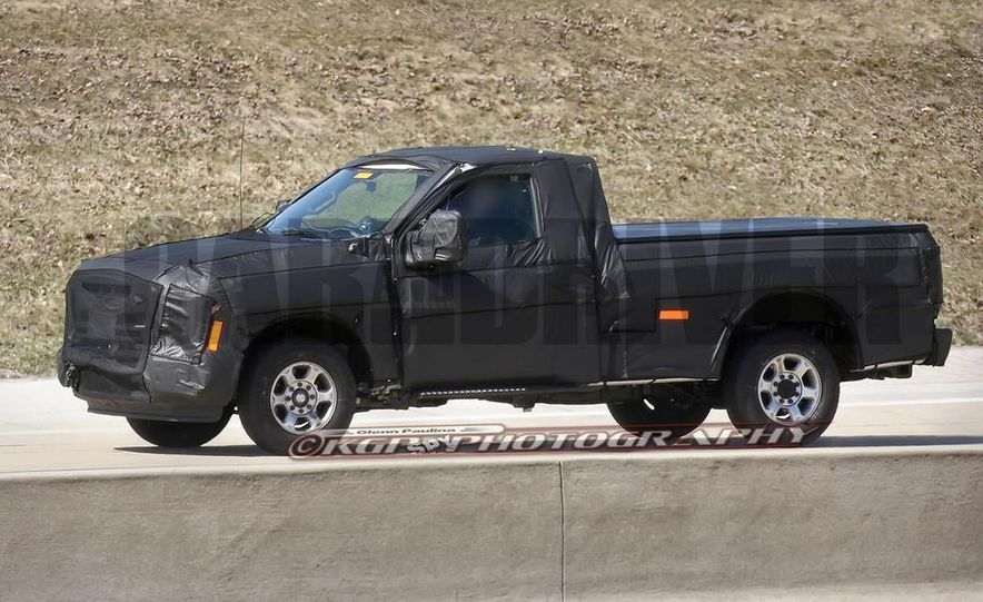 2016 Ford F-250 Super Duty (spy photo) - Slide 9