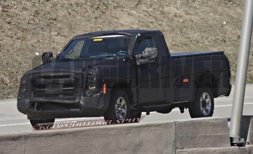 2016 Ford F-250 Super Duty (spy photo) - Slide 6