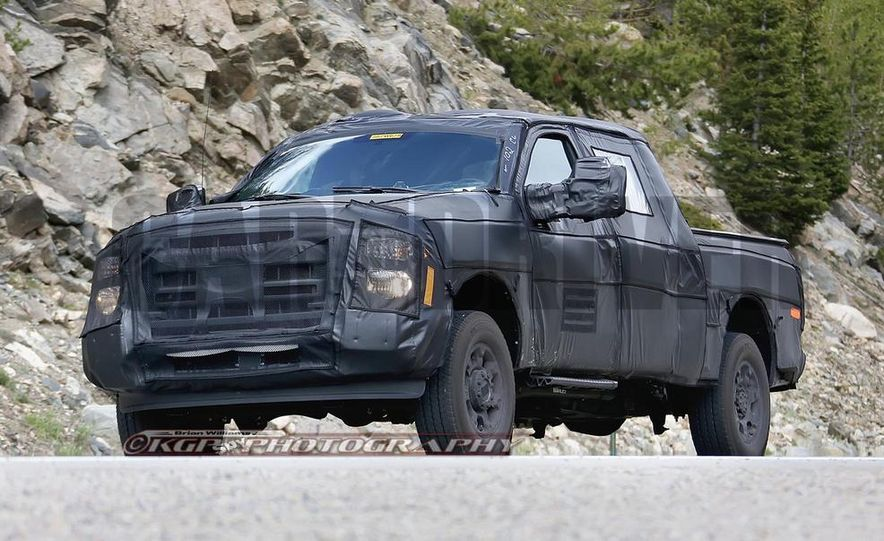 2016 Ford F-250 Super Duty (spy photo) - Slide 7