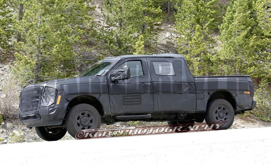2016 Ford F-250 Super Duty (spy photo) - Slide 10