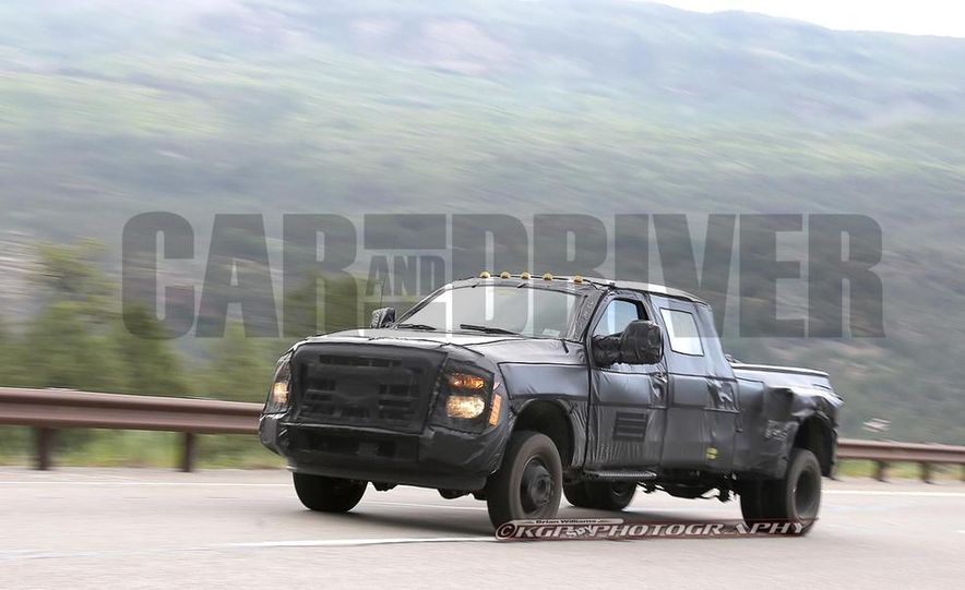 2016 Ford F-250 Super Duty (spy photo) - Slide 20