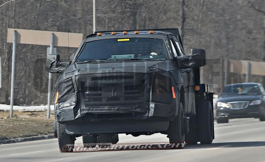 2016 Ford F-250 Super Duty (spy photo) - Slide 21
