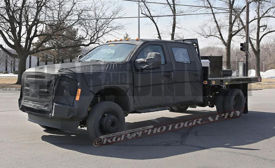 2016 Ford F-250 Super Duty (spy photo) - Slide 24