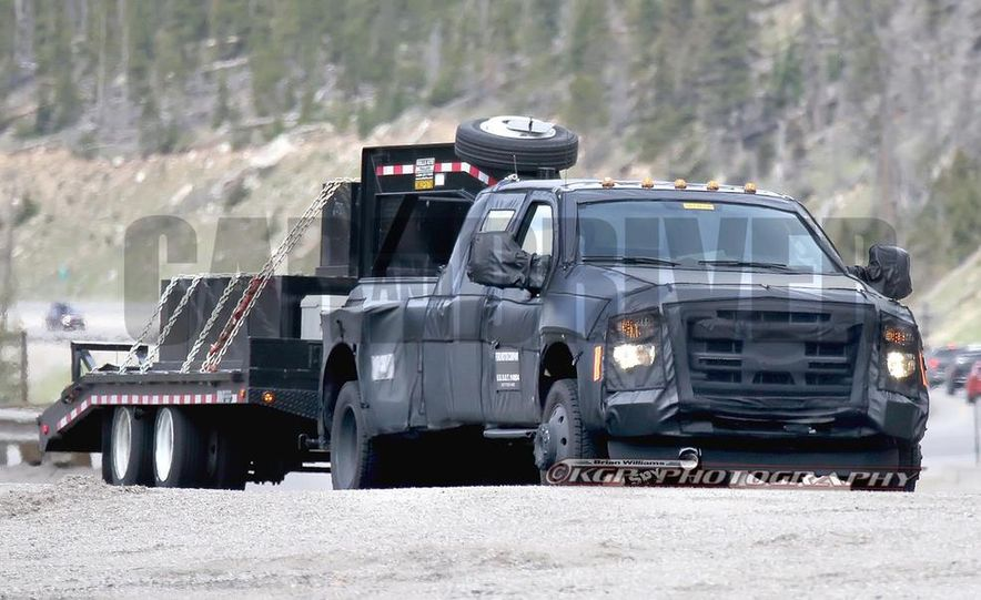 2016 Ford F-250 Super Duty (spy photo) - Slide 27