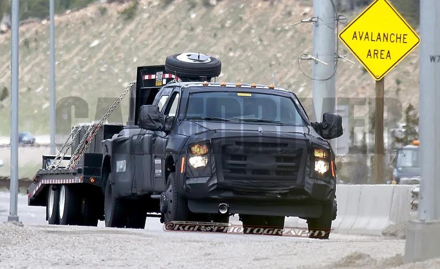 2016 Ford F-250 Super Duty (spy photo) - Slide 28