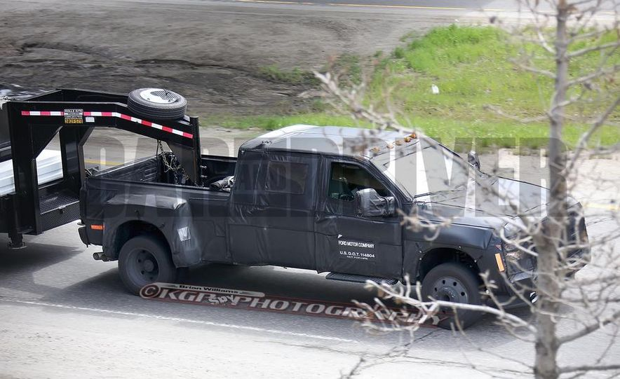 2016 Ford F-250 Super Duty (spy photo) - Slide 29