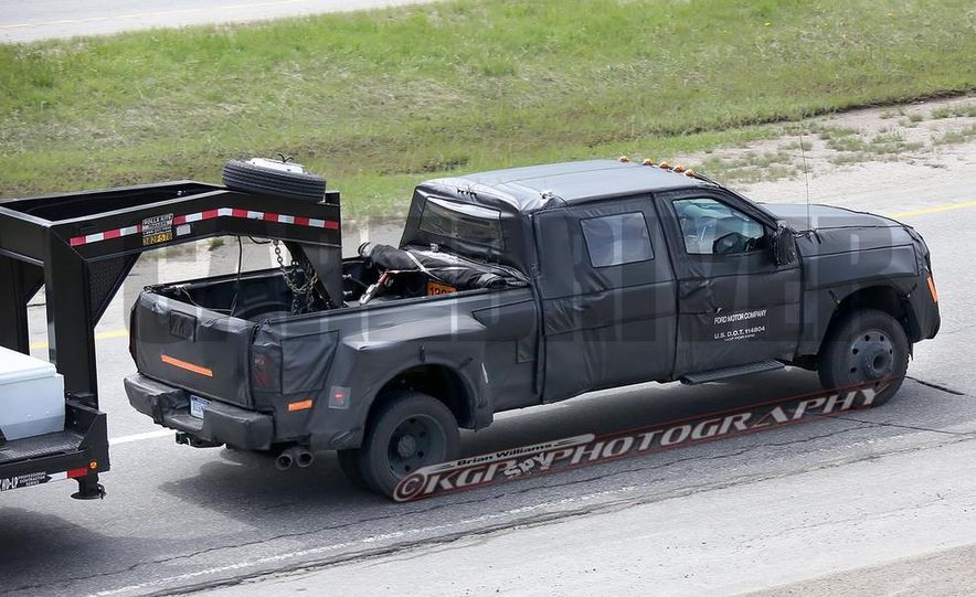 2016 Ford F-250 Super Duty (spy photo) - Slide 30