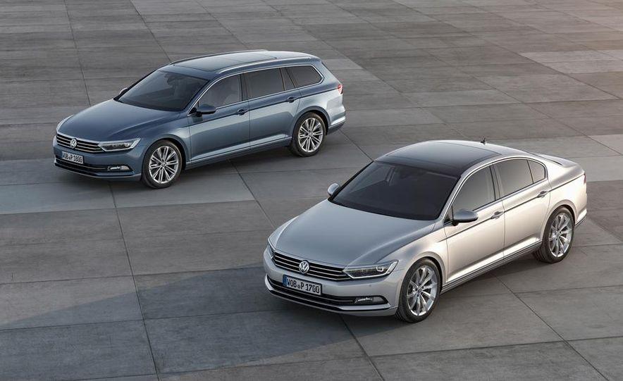 2015 Volkswagen Passat wagon and sedan (Euro-specs) - Slide 1