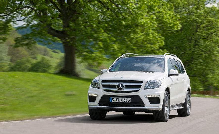 2014 Mercedes-Benz GL63 AMG - Slide 1