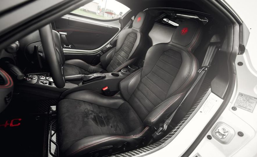 2015 Alfa Romeo 4C - Slide 27