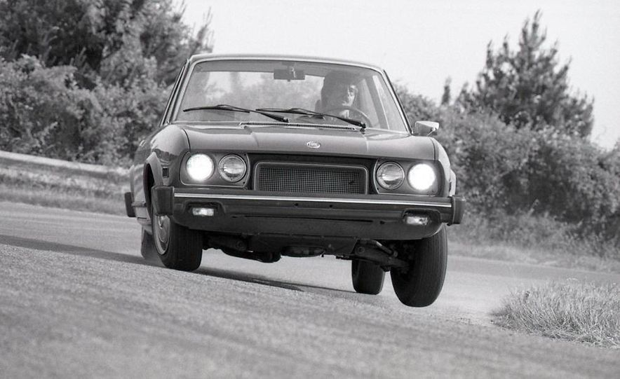 Fiat 124 Sport Coupe - Slide 9