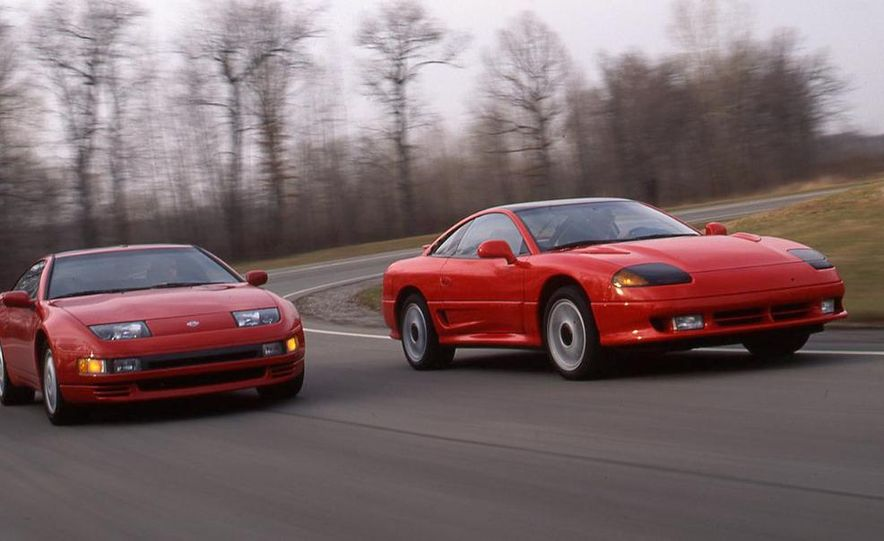 Nissan 300ZX Turbo and Dodge Stealth R/T Turbo - Slide 1