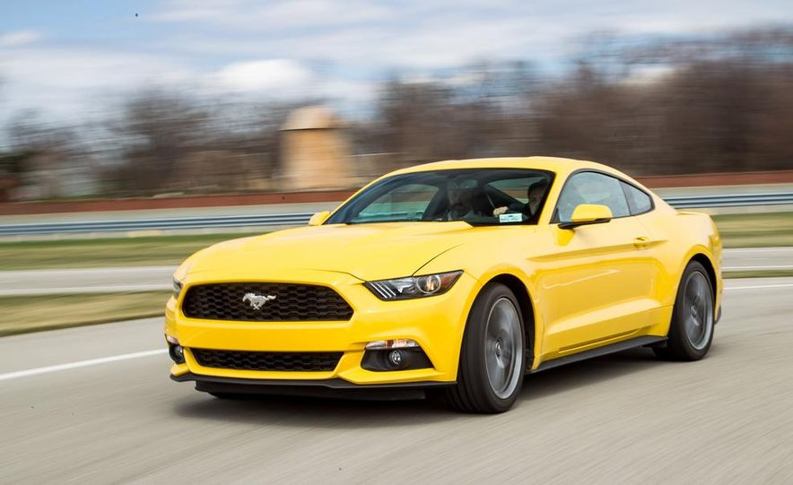 2015 Ford Mustang 2.3L EcoBoost - Slide 1