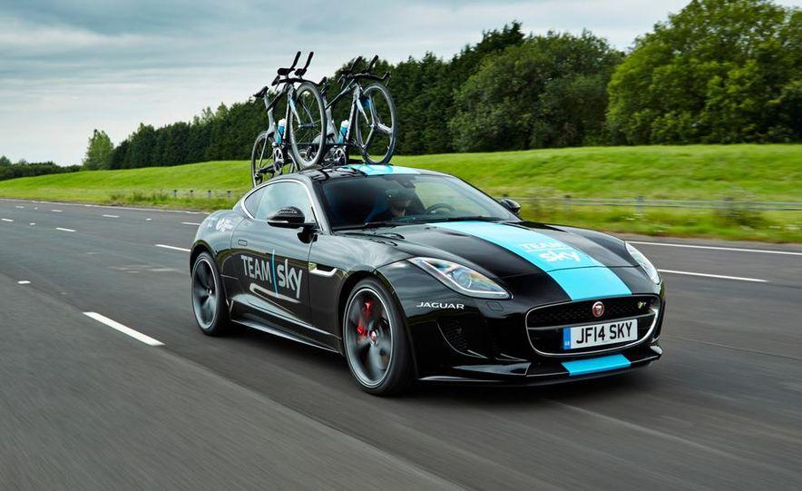 Jaguar F-type Tour de France Support Vehicle - Slide 1