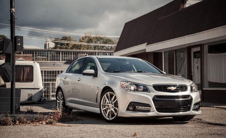 2014 Chevrolet SS model shown - Slide 9
