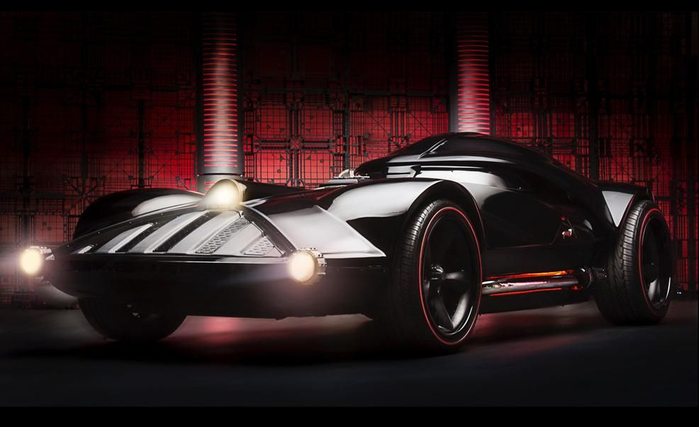 hot wheels star wars darth vader life-size car pictures | photo