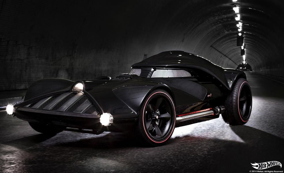 12 facts about hot wheels' full-size darth vader car – news – car