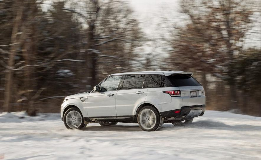 2015 Land Rover Range Rover SVR - Slide 24