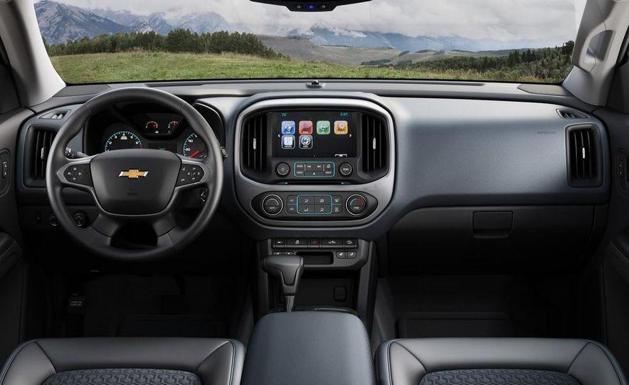 2015 Chevrolet Silverado 3500 HD LTZ, 2015 Chevrolet Colorado Z71, and 2015 Chevrolet Silverado 1500 LTZ Z71 - Slide 22