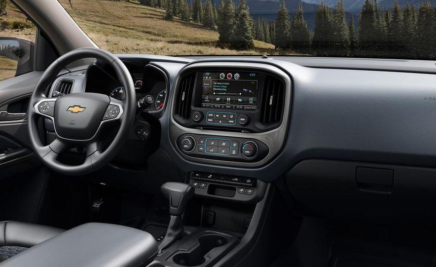 2015 Chevrolet Silverado 3500 HD LTZ, 2015 Chevrolet Colorado Z71, and 2015 Chevrolet Silverado 1500 LTZ Z71 - Slide 23