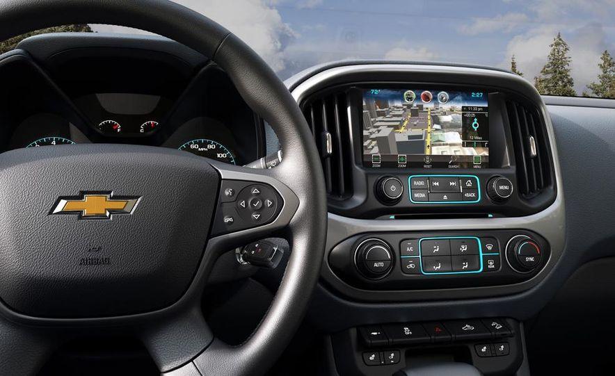 2015 Chevrolet Silverado 3500 HD LTZ, 2015 Chevrolet Colorado Z71, and 2015 Chevrolet Silverado 1500 LTZ Z71 - Slide 24