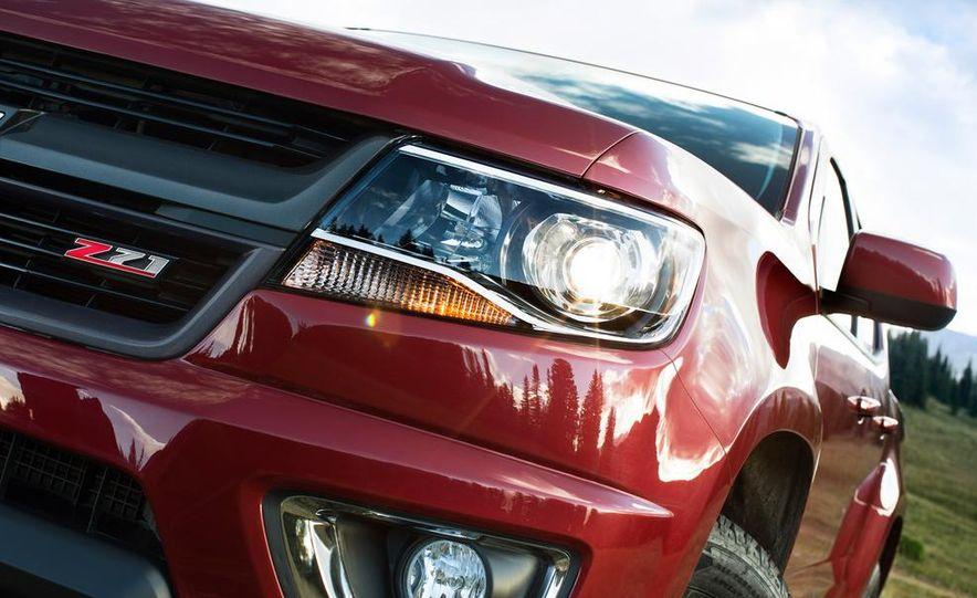 2015 Chevrolet Silverado 3500 HD LTZ, 2015 Chevrolet Colorado Z71, and 2015 Chevrolet Silverado 1500 LTZ Z71 - Slide 10