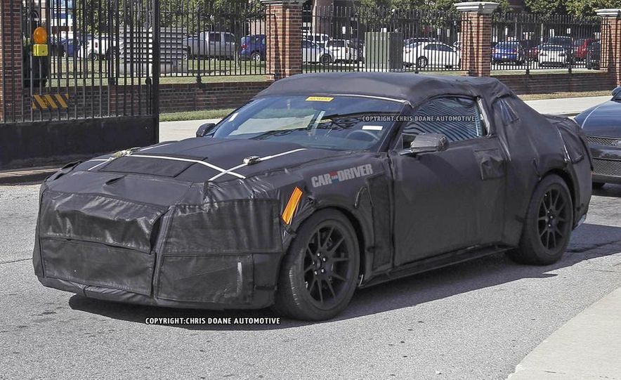 2016 Ford Mustang Shelby GT350 (spy photo) - Slide 12