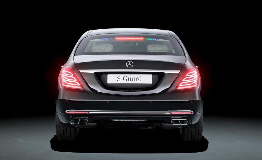 2015 Mercedes-Benz S600 Guard - Slide 8