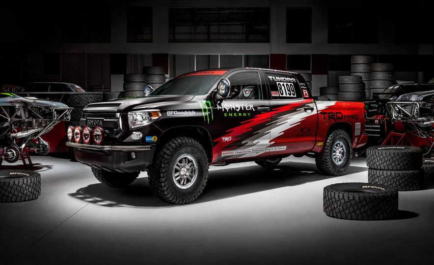 2015 Toyota Tundra TRD Pro race truck - Slide 1