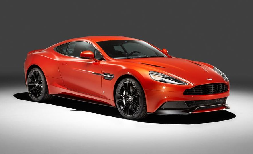 Q by Aston Martin Vanquish Coupe - Slide 1