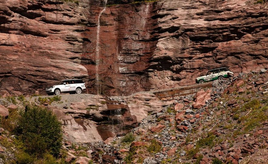 Land Rover 25th Anniversary of the Great Divide Expedition - Slide 20