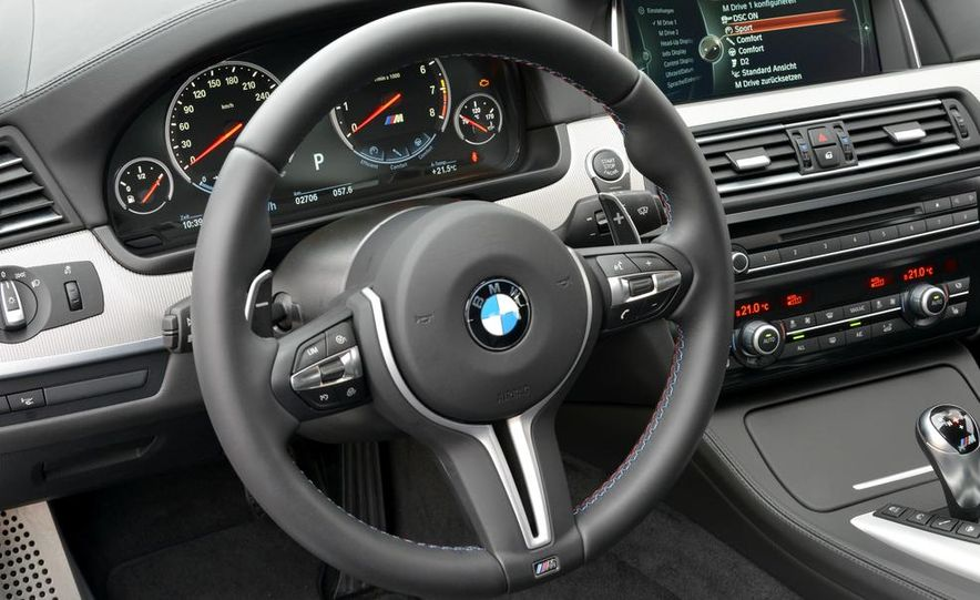 2014 BMW M5 with Competition Package - Slide 5