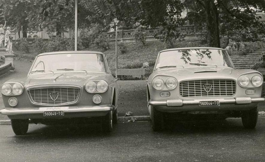 Lancia Flaminia 3C GT and Lancia Flavia Coupe - Slide 1