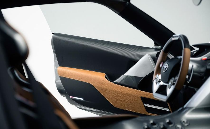 Toyota FT-1 concept - Slide 25