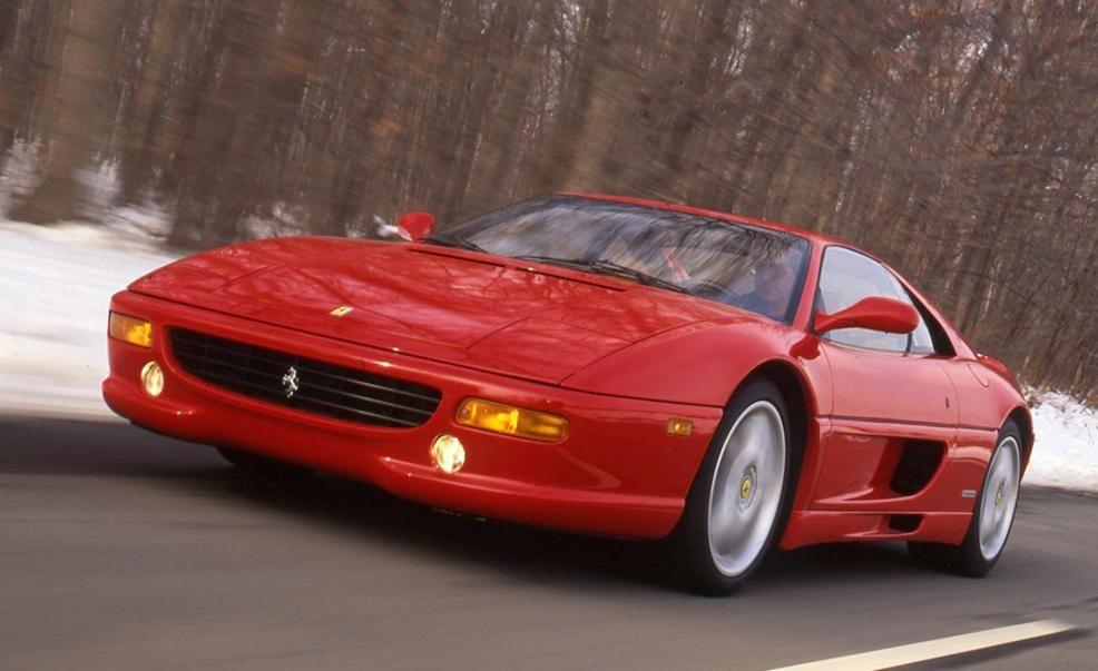 Ferrari F355 driving