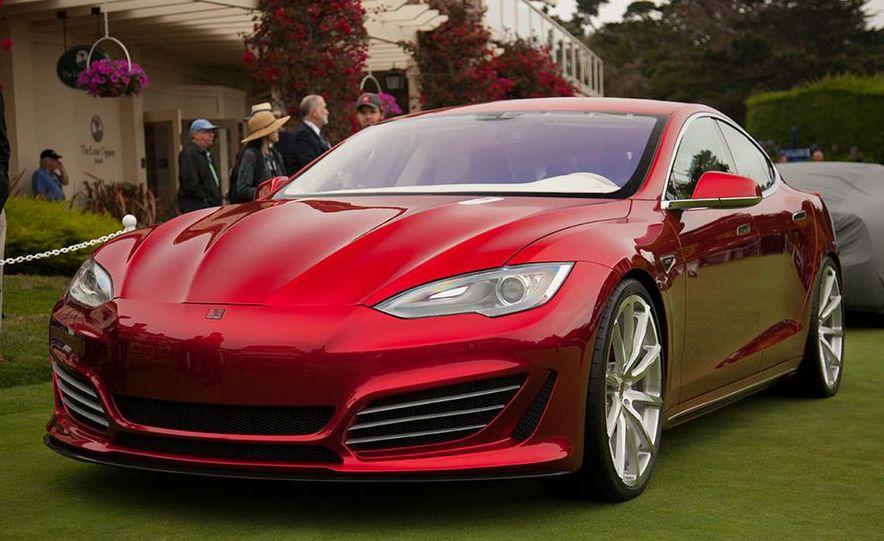 Saleen FourSixteen Tesla Model S - Slide 1
