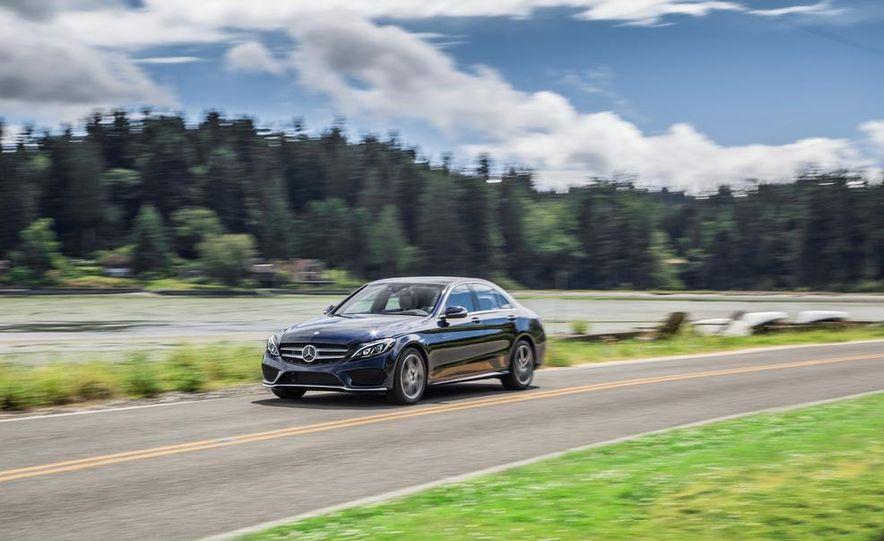 2015 Mercedes-Benz C400 4MATIC - Slide 1