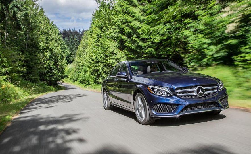 2015 Mercedes-Benz C400 4MATIC - Slide 12