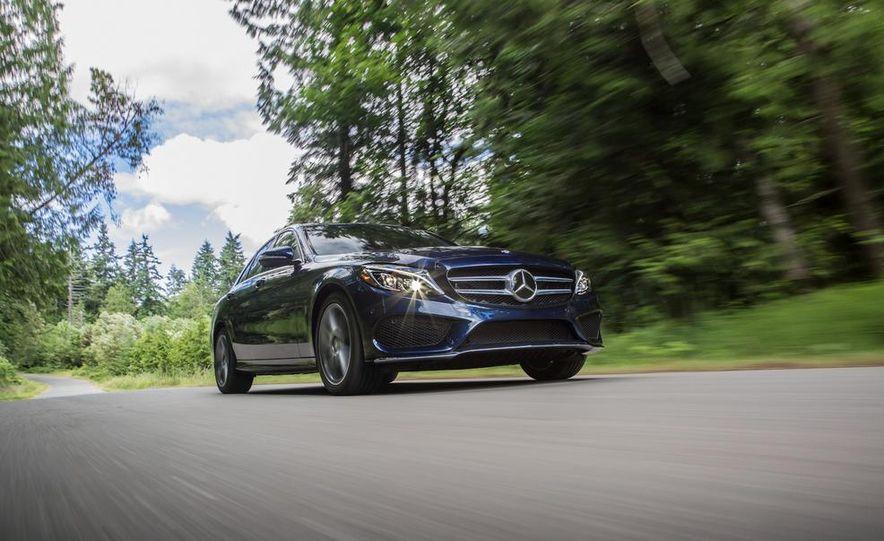2015 Mercedes-Benz C400 4MATIC - Slide 13