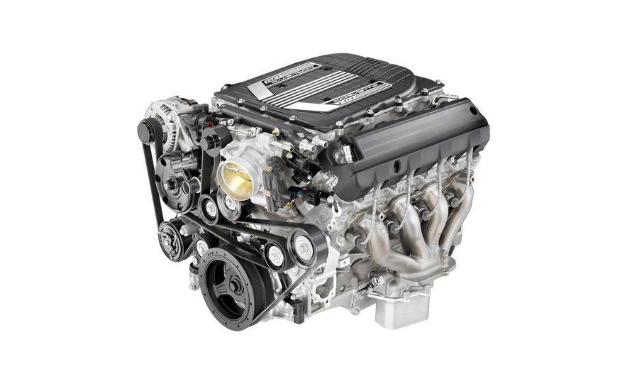 General Motors LT4 supercharged 6.2-liter V-8 engine - Slide 1