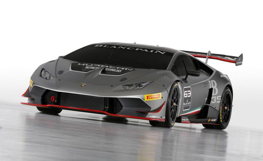 2015 Lamborghini Huracán LP620-2 Super Trofeo - Slide 2